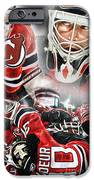 Martin Brodeur Collage IPhone Case by Mike Oulton
