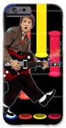 Marty Mcfly Plays Guitar Hero IPhone Case by Akyanyme