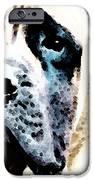 Mastif Dog Art - Misunderstood IPhone Case by Sharon Cummings