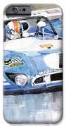 Matra Simca 670 Francois Cevert IPhone Case by Yuriy  Shevchuk