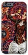 Mechanical Garden IPhone Case by Mo T
