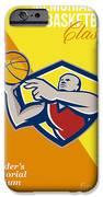 Memorial Day Basketball Classic Poster IPhone Case by Aloysius Patrimonio