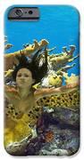 Mermaid Camoflauge IPhone Case by Paula Porterfield-Izzo