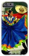 Mexican Dancers IPhone Case by Elisabeta Hermann