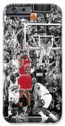 Michael Jordan Buzzer Beater IPhone Case by Brian Reaves