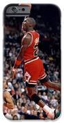 Michael Jordan  IPhone Case by Paint Splat