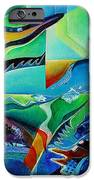 mindscape no.2-Improvisation Saxophone and Piano IPhone Case by Wolfgang Schweizer