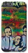 Mlk Fatherhood 1  IPhone Case by Tony B Conscious