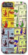 Modern Art Money IPhone Case by Kenneth Summers