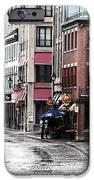 Montreal Street Scene IPhone Case by John Rizzuto