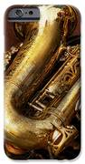Music - Brass - Saxophone  IPhone Case by Mike Savad