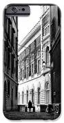 Mysteries In Rome IPhone Case by John Rizzuto