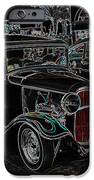 Neon Car Show IPhone Case by Steve McKinzie