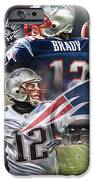 New England Patriots IPhone Case by Mike Oulton