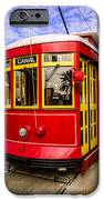 New Orleans Streetcar  IPhone Case by Paul Velgos