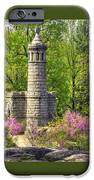 New York At Gettysburg - Monument To 12th / 44th Ny Infantry Regiments-2a Little Round Top Spring IPhone Case by Michael Mazaika
