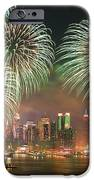 New York City Fireworks IPhone Case by Songquan Deng