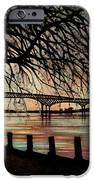 Newburgh Beacon Bridge Sunset IPhone Case by Janine Riley