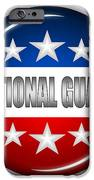 Nice National Guard Shield IPhone Case by Pamela Johnson