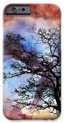 Night Sky Landscape Art By Sharon Cummings IPhone Case by Sharon Cummings