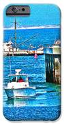 No Wake Zone Gate IPhone Case by Joseph Coulombe