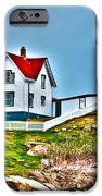 Nubble Lighthouse Cape Neddick Maine 2 IPhone Case by Glenn Gordon