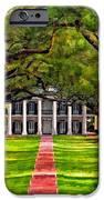 Oak Alley Paint Version IPhone Case by Steve Harrington