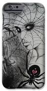 Oh What Tangled Webs We Weave IPhone Case by Carla Carson