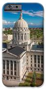 Oklahoma City State Capitol Building C IPhone Case by Cooper Ross