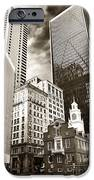Old And New In Boston IPhone Case by John Rizzuto