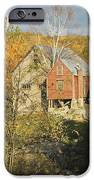 Old Buildings And Fall Colors In Vienna Maine IPhone Case by Keith Webber Jr