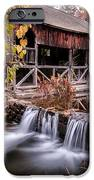 Old Grist Mill - Macedonia Connecticut  IPhone Case by Thomas Schoeller