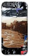 Old Tucson Arizona Composite Of Artists Performing There 1967-2012 IPhone Case by David Lee Guss