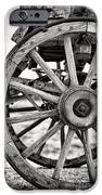 Old Wagon Wheels IPhone Case by Jane Rix