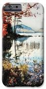 On Jordan Pond IPhone Case by Lianne Schneider