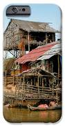 On The Shores Of Tonle Sap IPhone Case by Douglas J Fisher