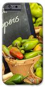 Organic Peppers At Farmers Market IPhone Case by Teri Virbickis