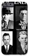 Original Gangsters - Public Enemies IPhone Case by Paul Ward