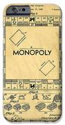 Original Patent For Monopoly Board Game IPhone 6s Case by Edward Fielding