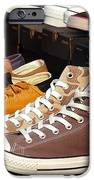 Outdoor Vendor Sells Canvas Shoes IPhone Case by Yali Shi