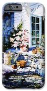 Over Sleepy Garden Walls IPhone Case by Hanne Lore Koehler