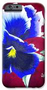 Pansy IPhone Case by Sylvie Heasman