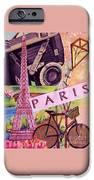 Paris  IPhone Case by Eloise Schneider