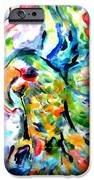 Parrot Plate  IPhone Case by Martha Nelson