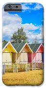 Pastel Beach Huts IPhone Case by Chris Thaxter