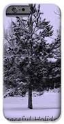 Peaceful Holidays IPhone Case by Carol Groenen