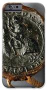 Pendent Wax Seal Of The Council Of Calahorra IPhone Case by RicardMN Photography