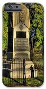 Pennsylvania At Gettysburg - 57th Pa Veteran Volunteer Infantry Sunrise Autumn Steinwehr Avenue IPhone Case by Michael Mazaika