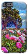 Peony Heaven IPhone Case by Jane Small