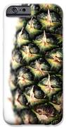 Pineapple Half IPhone Case by John Rizzuto